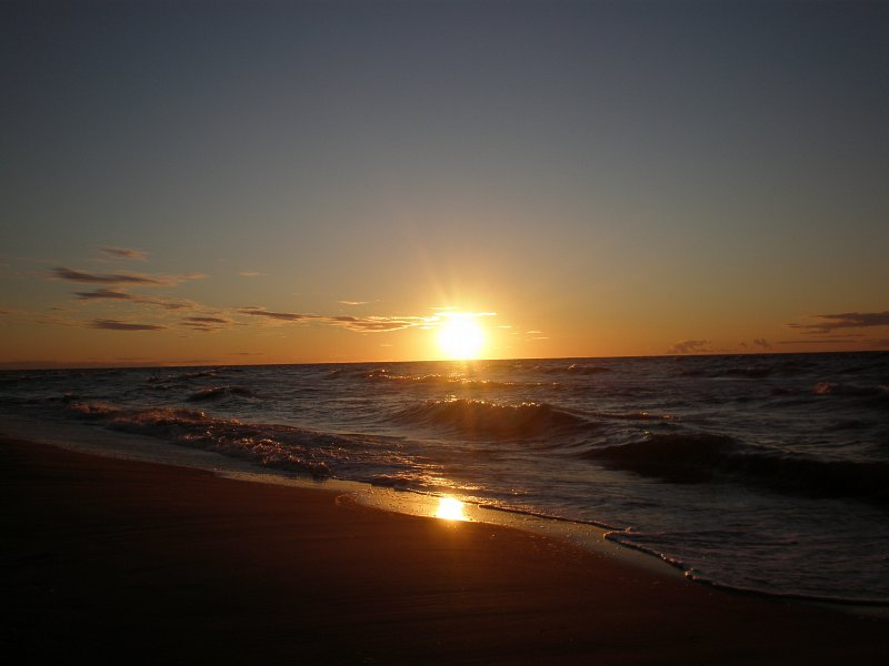 Morze bałtyckie - Mielno